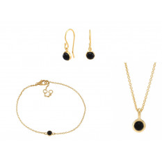 NORDAHL JEWELLERY SWEETS SET EARRINGS, NECKLACE AND BRACELET
